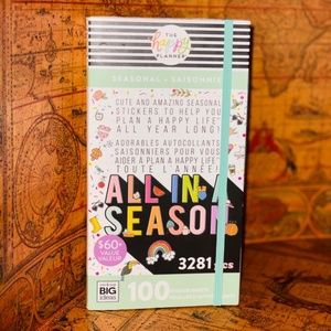 Happy Planner All in a Season 100 Page stickers